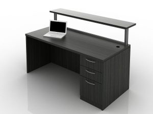 OFW TL Borders Reception Desk with BBF 30x66